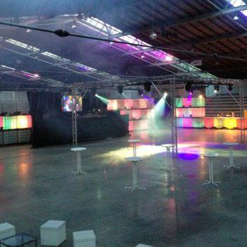 Veranstaltungstechnik in der Arena Bad Wörishofen