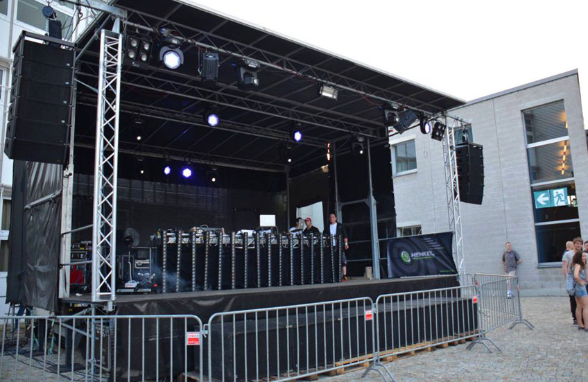 Campusopenair in Kempten von Hokus e.V. mit DJ Nick Henkel