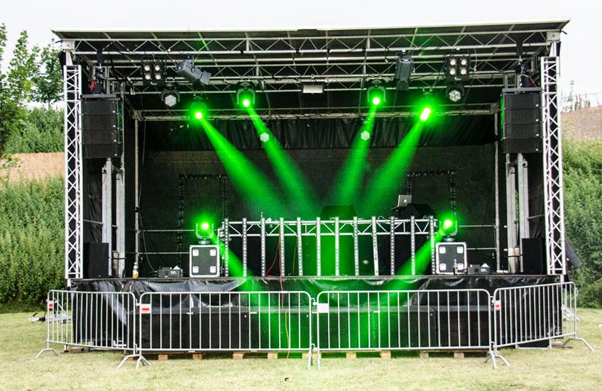 Open Air Sound am See, Veranstaltungstechnik Henkel