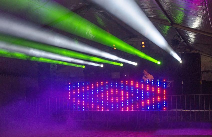 Polarfete in Stötten mit Technik von Veranstaltungstechnik Henkel und DJ Nick Henkel